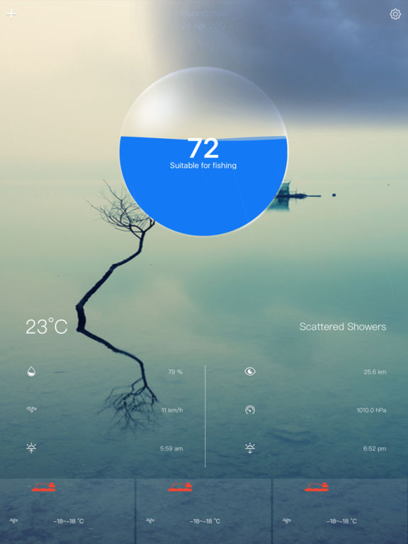 App shopper fishing weather forecast fishing index for Best weather for fishing