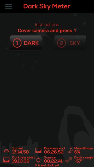 Dark Sky Meter Screenshots