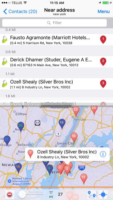 SalesNOW Mobile CRM iPhone Screenshot 1