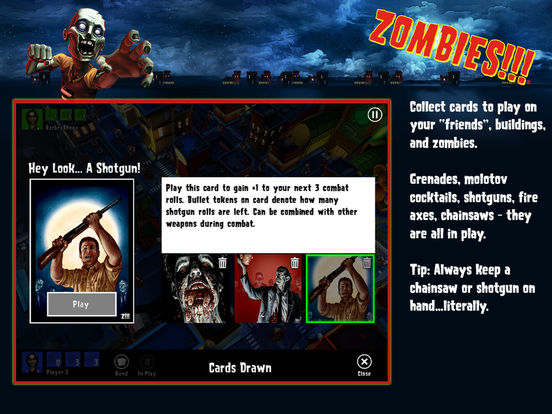 Zombies !!! ® Board Game Screenshots