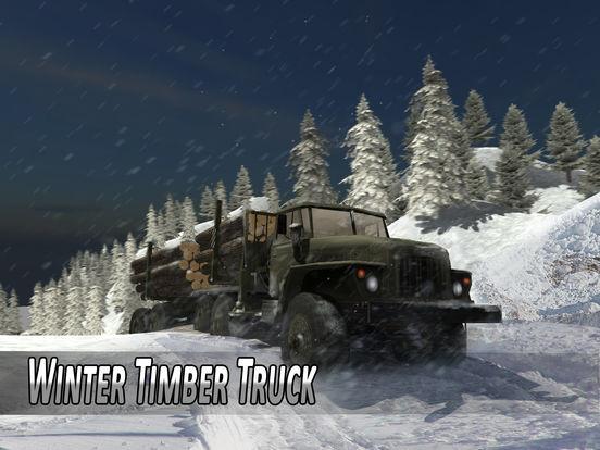 Winter Timber Truck Simulator на iPad