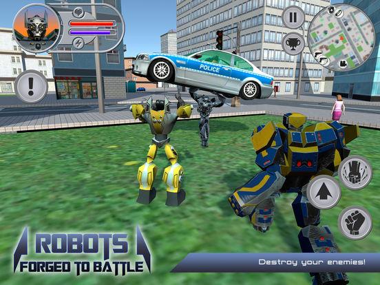 Скачать Robots: Forged to Battle
