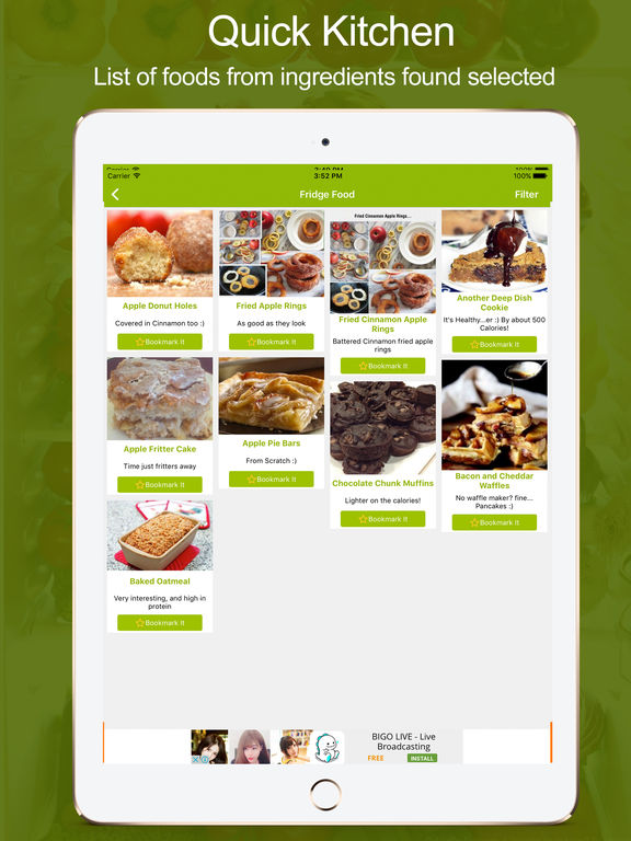App shopper fridge food easy recipes using ingredients for Cuisine 5 ingredients