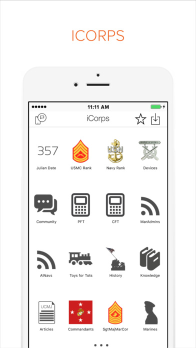 iCorps - Pocket Reference screenshot 1