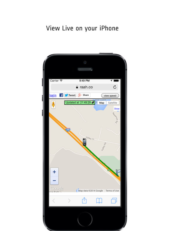 Route Tracker Pro - For GPS Location Sharing Screenshots