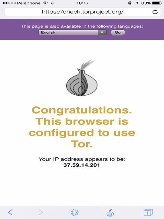 TOR Powered VPN Browser Screenshots