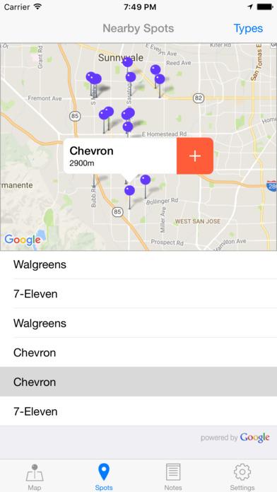 GeoMEMO - Create Your Own Map screenshot 5