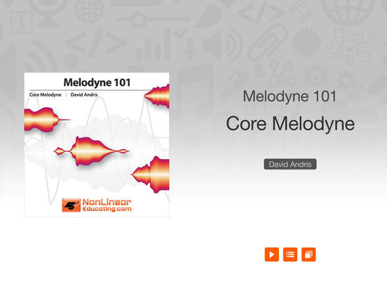 MPV's Melodyne 101 Tutorials iPad Screenshot 1