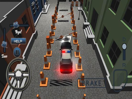 Modern Police Car Parking Simulator Pro screenshot 9