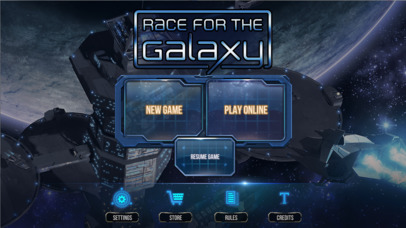 Race for the Galaxy the Top new Game in Apple App Store