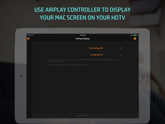 Remote Control, Keyboard & Trackpad for Mac [PRO] Screenshot