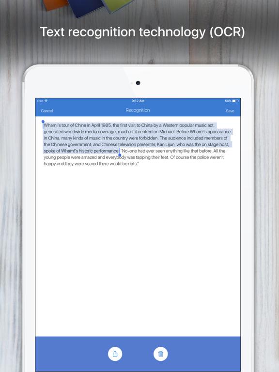 Screenshot #5 for Scanner App - PDF Scanner OCR & Document Printer