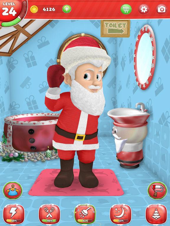 App shopper my santa claus christmas games for kids