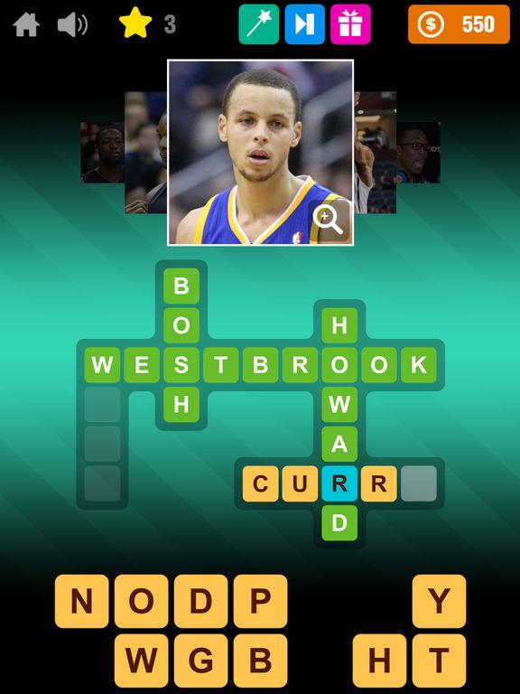 Crossword Basketball screenshot 10