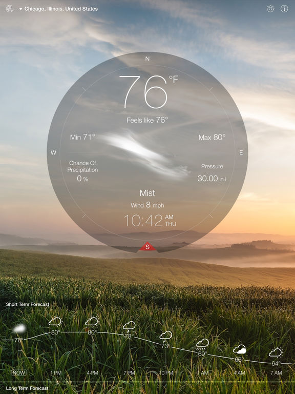 Screenshot #4 for Weather Live Free - Weather Forecast & Alerts