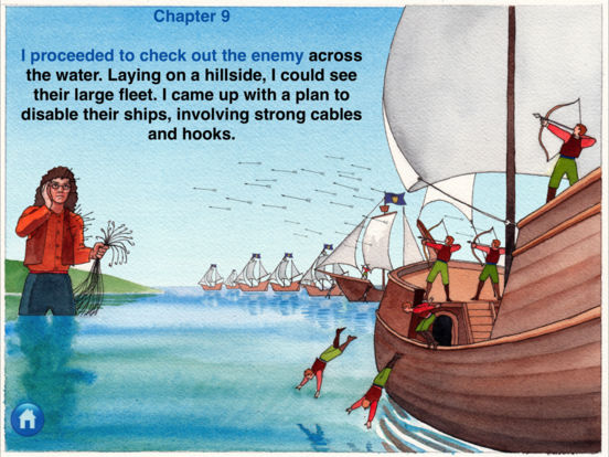 eReading: Gulliver's Travels, Lilliput iPad Screenshot 4