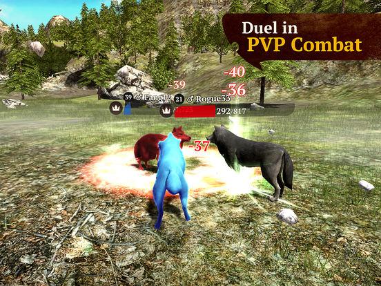 The Wolf: Online RPG Simulatorscreeshot 4