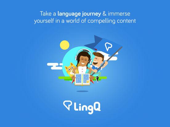 iLingQ Language Learning & Flashcards iPad Screenshot 1
