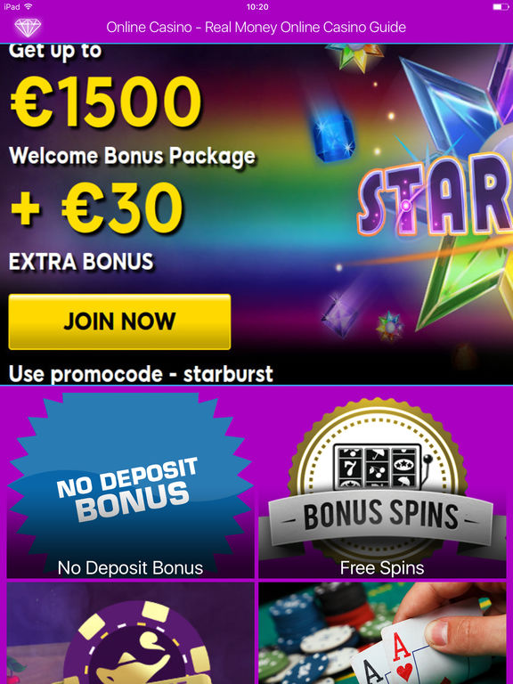 online casino app real money