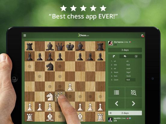 Chess.com - Play & Study Chess iPad Screenshot 1
