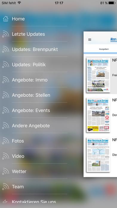 NFZ iPhone Screenshot 2