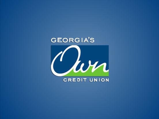 Georgia's Own Credit Union iPad Screenshot 1