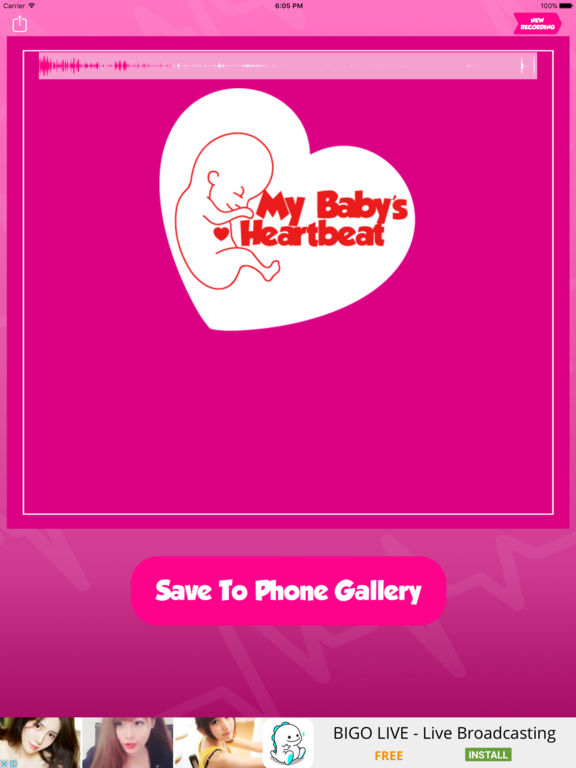 Baby's Beat - Listen to Baby Heartbeat Screenshots