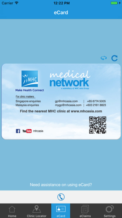 MHC Clinic Network iPhone Screenshot 5