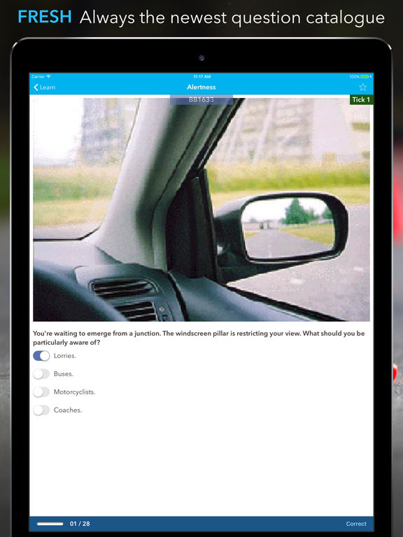 iTheory Driving Theory Test Car Driver UK Premium Screenshots