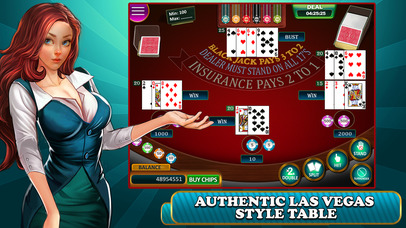 Screenshot 5 BlackJack — Play Blackjack Casino 21 Card Game!