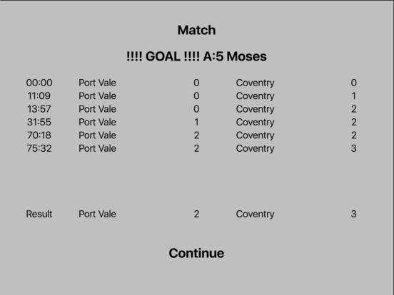 Kevin Toms Football Star Manager iPad Screenshot 4
