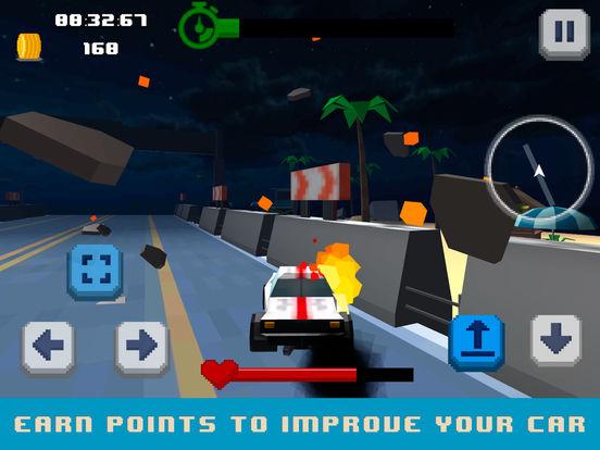 Pixel Drive: Maximum Car Speed Full screenshot 8