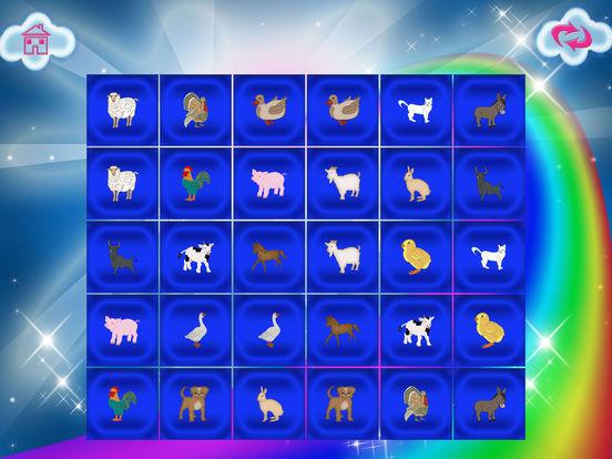 Animals Match Memory Cards Farm Game screenshot 9