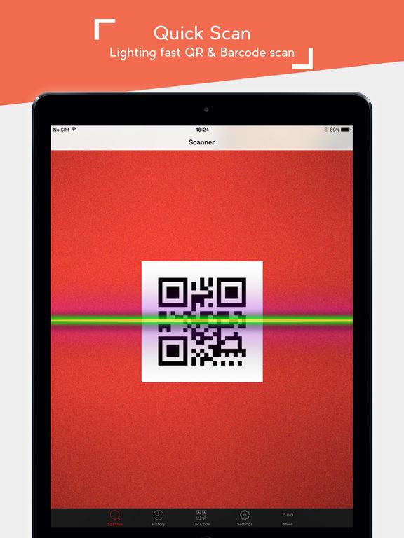 qr code scannen ipad