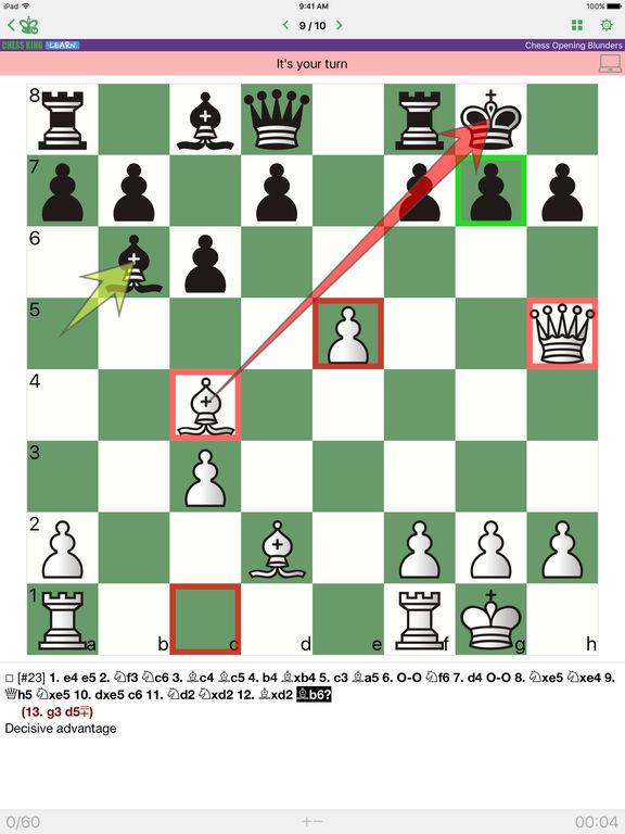 Chess Opening Blundersscreeshot 1