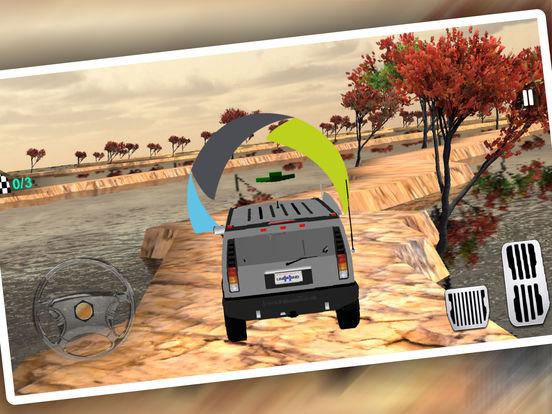 Uphill 4x4 Jeep Driving 3d screenshot 10