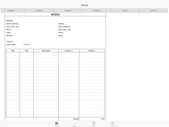 Business Invoice Pro Screenshots