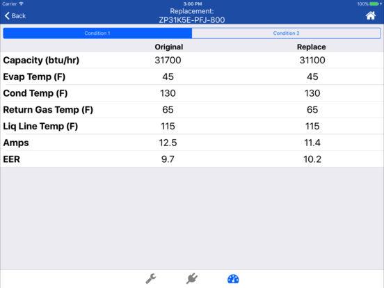 Copeland X-Ref iPad Screenshot 5