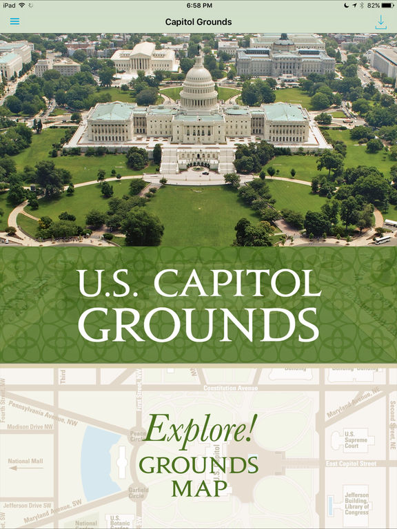 u s capitol grounds on the app store