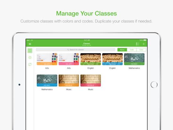 TeacherPal iPad Screenshot 1