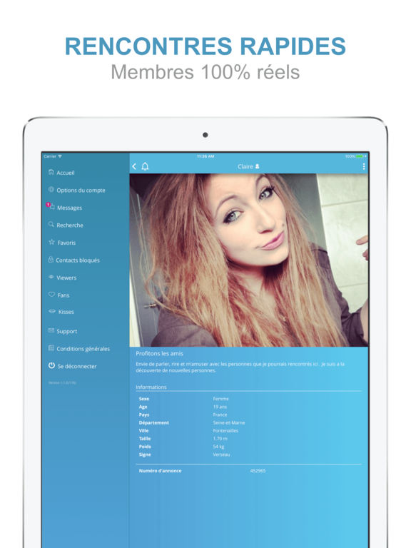 Application ipad rencontres