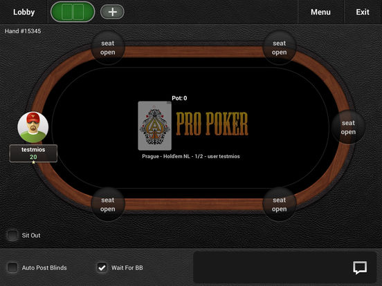 Pro Poker Online screenshot 4