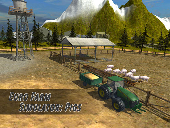 Euro Farm Simulator: Pigs - Full Version Screenshots