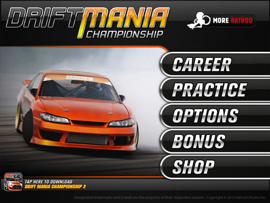 Drift Mania Championship Screenshots
