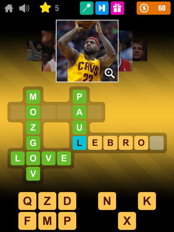 Crossword Basketball screenshot 6