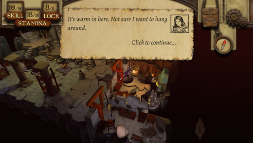 The Warlock of Firetop Mountain Screenshots