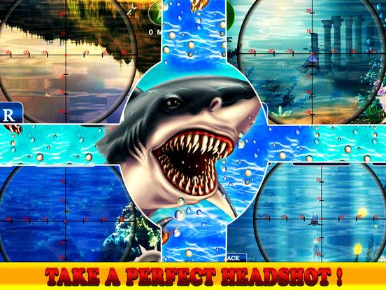Flying Hungry Shark Attack Limbo Adventure-ipad-2