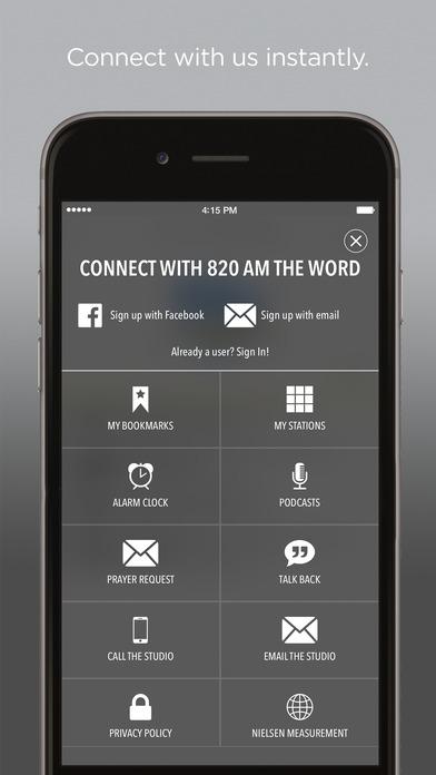 820 KGNW-AM iPhone Screenshot 2