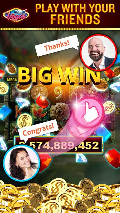 Screenshot 4 Club Vegas — Real Vegas Slots