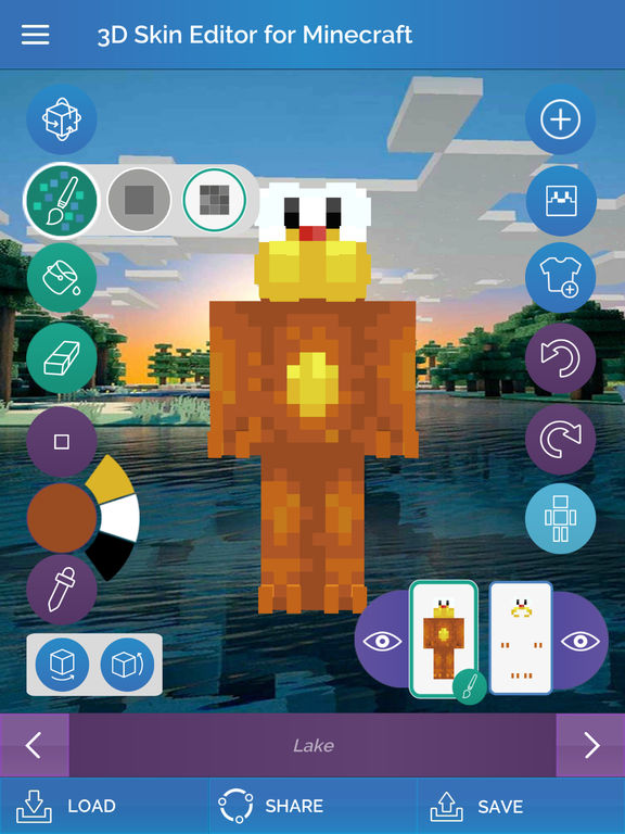 App Shopper 3d Skin Editor For Minecraft Utilities
